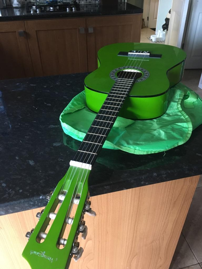 Kids Guitarin Rogerstone, NewportGumtree - Kids Spanish guitar with case, like new. Bought for £30 but never used