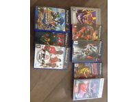 Selection of ps2 games.