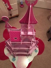 Wooden princess castle from ELC