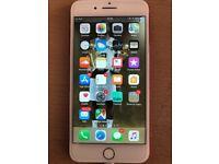 Red IPhone 7 Plus 256gb