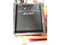 Small guitar speaker