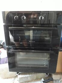 Hotpoint integrated electric oven