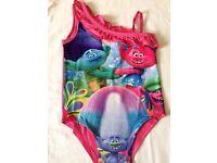 Girls Swimwear Swimsuit Swimming Swim Costume Trolls Movie