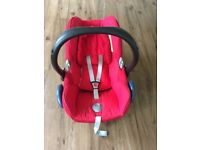 Max cosi car seat from birth, very good condition