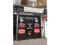 TATTOO STUDIO SHOP LONDON FOR SALE