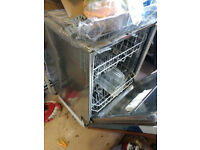 Integrated dishwasher in very good condition