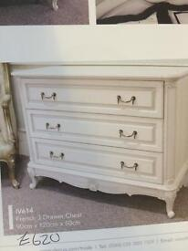 French chest of drawers new £580