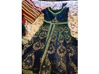 Stunning lengha Indian dress