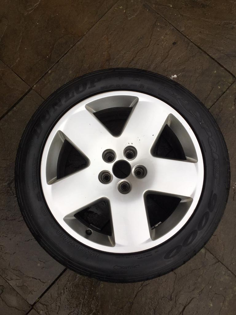 """Audi 18"""" alloy with Dunlop tyre"""