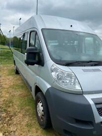 Citroen relay minibus converted