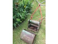 "Vintage 12"" Cylinder Self Propelled Electric Lawn Mower Qualcast Super Sports ( approx. 1980 )"