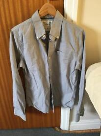 Abercrombie and Fitch Mens grey shirt S