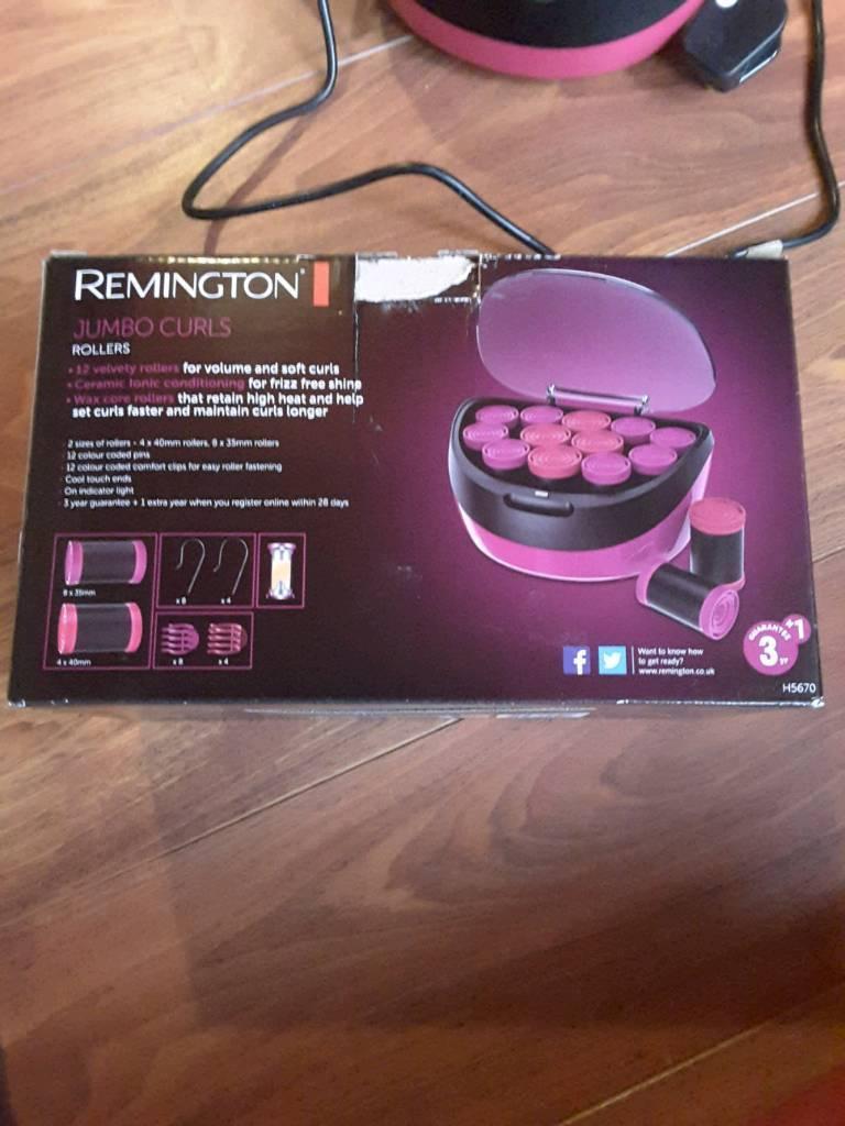 Remington Electric Jumbo Curl rollers