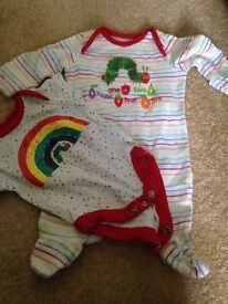 Hungry caterpillar outfit