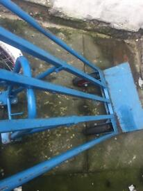 Heavy duty loading trolley perfect condition
