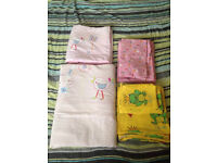 Baby Girls cot beddings sets, bed sheets, duvets,cot bumpers