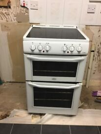 Belling freestanding electric cooker ceramic top with separate oven an grill very good condition