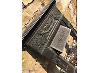 Crosthwaite Antique Victorian cast iron fireplace