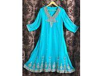 Indian/Pakistani maxi style Anarkali style (OVNO)