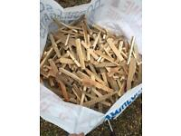 Kindling wood fire wood log £2.50 per bag competitive price