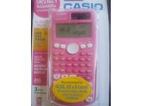 Pink Scientific Calculator