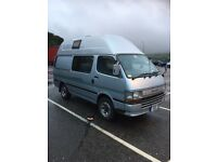 Toyota Hiace high top campervan