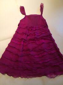 Monsoon Dress Age 7-8 years