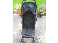 Mamas & Papas black pushchair