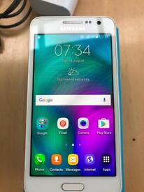 Samsung Galaxy A3 Great Condition with SD card
