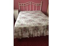 Double bed mattress /bed frame