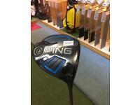 Used - Ping G Series 10.5° Driver - Alta 55 Stiff Flex Shaft