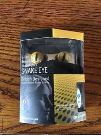 Quarkie Snake Eye Headphones - NEW!