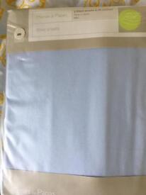 Mamas &Papas cotbed sheets BNIP