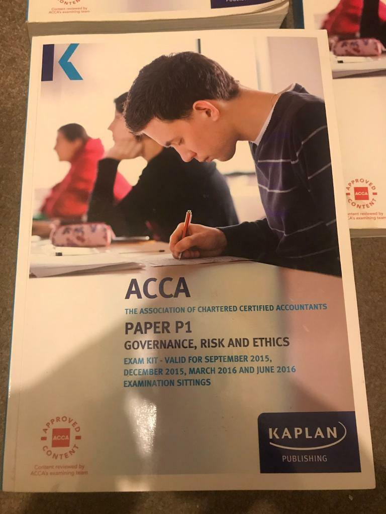 ACCA Textbooks | in Blantyre, Glasgow | Gumtree