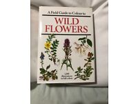 FIELD GUIDE IN COLOUR BOOK ON WILD FLOWERS