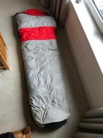 Down sleeping bag 4+ seasons