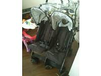 Cosatto twin pushchair