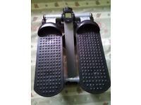 V Fit Gym Stepper Leg Toner Toning Workout Machine Low Impact Mini Gym Step