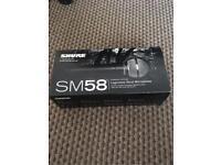 Sure SM58 dynamic mic