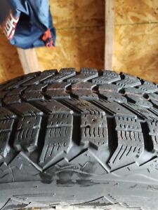 "GREAT DEAL on 16"" winter tires and rims"