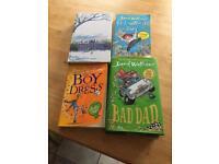 4 David walliams books