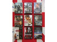 9 Recent Dvds Unlocked / Jack Reacher / Independence Day / Marauders / Security