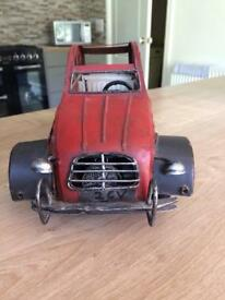 Tinplate 2CV Model Car
