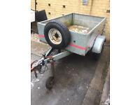 5x4 metal trailer