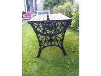L@@K: BEAUTIFUL GARDEN BENCH , SEAT AND TABLE FOR SALE . COULD DELIVER . PLEASE READ FULL ADVERT.