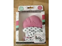 Belo teething mitt brand new in box