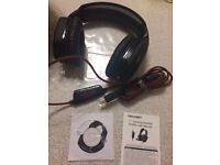 Gaming Headset, TeckNet 7.1 Channel Surround Sound, LED Lighting For PC Computer Gaming