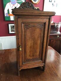 Vintage Oak Cabinet - Bedside or Hall
