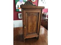 Vintage Oak Cabinet - Bedside or Hall