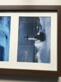 Ikea framed lighthouse pictures